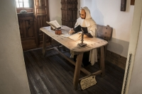 Room VIII – A Reconstruction of the Cell of St John of the Cross|Room VIII – A Reconstruction of the Cell of St John of the Cross|Room VIII – A Reconstruction of the Cell of St John of the Cross
